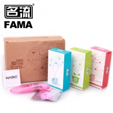 名流 天然胶乳橡胶避孕套爱全套组合装 48只/盒 有效期至2019.2.1