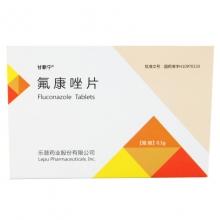 甘新宁 氟康唑片 0.1g*6片