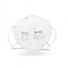 3M 折叠式防颗粒物口罩9002 2只装(头带式)