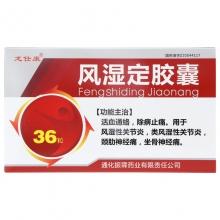 龙仕康 风湿定胶囊 0.3g*36粒
