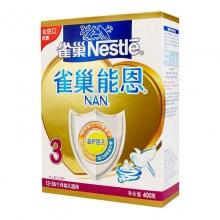 雀巢 能恩3幼儿配方奶粉 400g