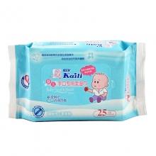 开丽 婴儿手口专用柔湿巾 15*20cm    25片装 有效期至2018-10-15