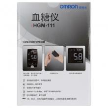 欧姆龙 智能血糖仪HGM-111 血糖仪+采血笔+25个*2盒试条