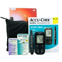 罗氏 活力血糖仪25条套装 血糖仪+25条试纸+25个针头