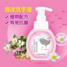 乐普 生姜山茶籽泡沫洗手液 粉色300ml