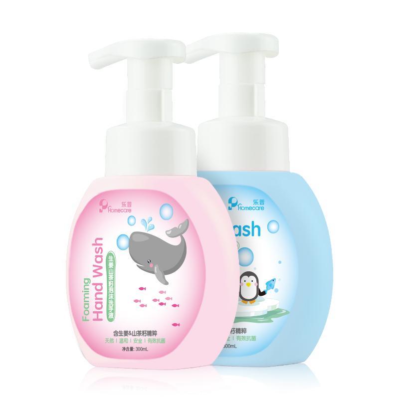 乐普 生姜山茶籽泡沫洗手液两瓶装