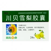 葵花药业 川贝雪梨胶囊 0.5g*24粒