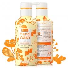 乐普 生姜山茶籽洗手液 活力橙 300ml