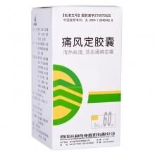 升和药业 痛风定胶囊 0.4g*60粒