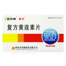金药师 复方黄连素片 40片
