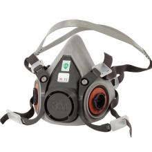 3M 半面型防护面罩6200 中号 1个