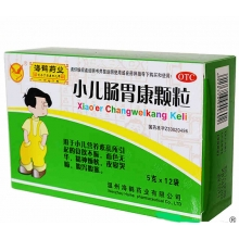 海鹤药业 小儿肠胃康颗粒 5g*12袋