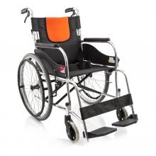 鱼跃医疗 铝合金折叠型手动轮椅 H062C