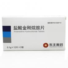 东北 盐酸金刚烷胺片 0.1g*24片