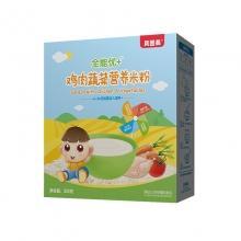 贝因美 全能优+婴儿米粉鸡肉蔬菜营养米粉 325克