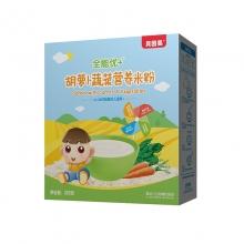 贝因美 全能优+婴儿米粉胡萝卜蔬菜营养米粉 325克