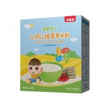贝因美 全能优+山药山楂营养米粉 325克