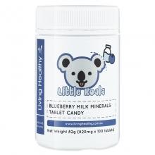苓康尔 蓝莓乳矿物盐咀嚼片压片糖果 820mg*100片