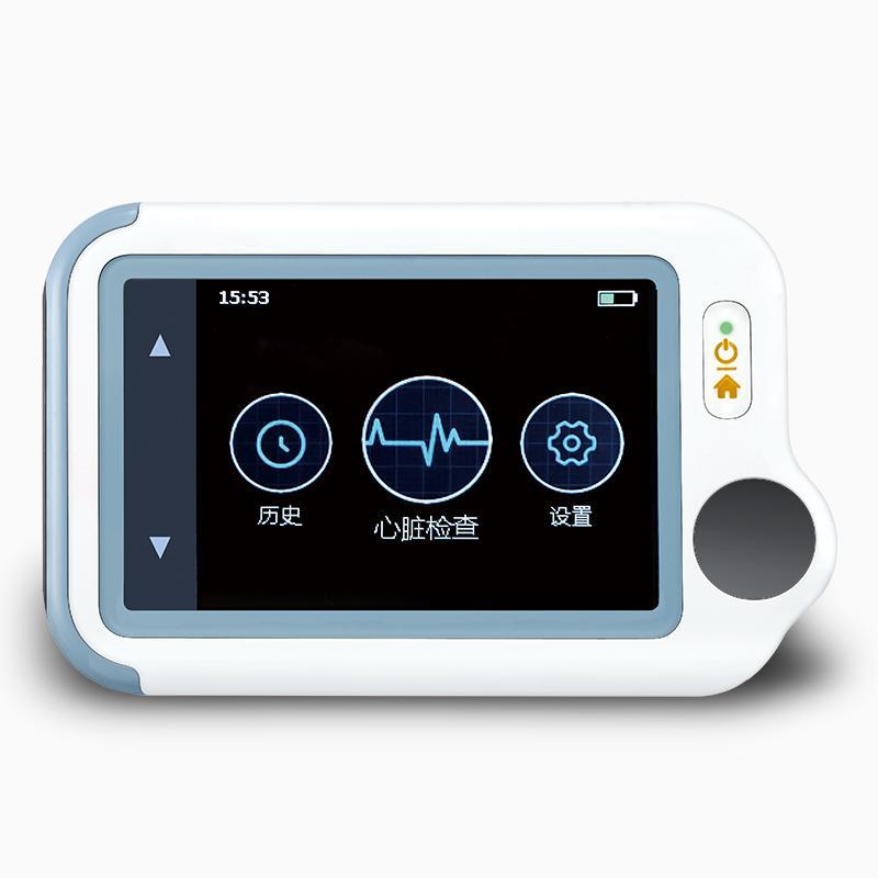 同心管家 CheckMeLite(高级版) 掌上心脏AI分析心电图机 多参数便携式家用心电监测监护仪