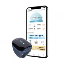 乐普医生O2Ring智能便携式家用连续心率 血氧 AI血压计 生理多参数动态长程监测预警监护健康指环 CheckMeO2Ring