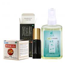 初夏防暑 蚊不叮抑菌喷剂+清凉油+风油精